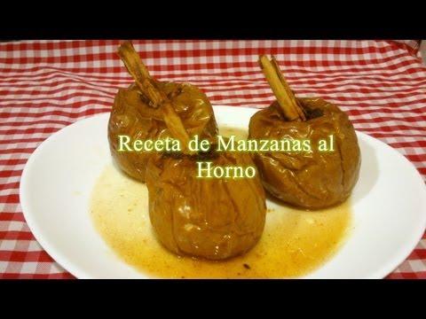 Cómo hacer Manzanas al Horno receta fácil