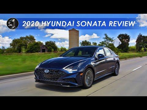 External Review Video dEkm3BJg-tY for Hyundai Sonata & Sonata Hybrid Mid-Size Sedan (8th-gen, DN8, 2020)