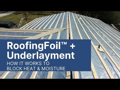 AtticFoil Radiant Barrier Foil Insulation YouTube videos