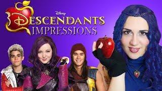 Disney Descendants Impressions - Madi2theMax