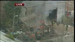 Industrial fire at business in Big Bend