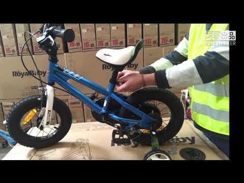 How to assemble Royalbaby kids bike