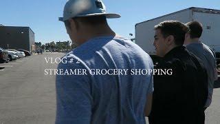 Yoona Vlog#2  Streamer Grocery Shopping Ft. Pokimane, Pokelawls, Yellowpaco