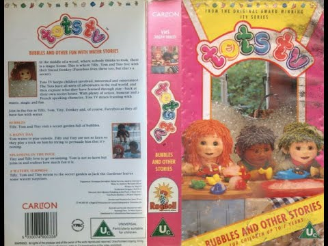 Tots TV: Bubbles and other stories (1997 UK VHS)