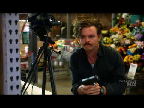 Lethal Weapon S02 Ep08 - Riggs, the Tarzan boy...