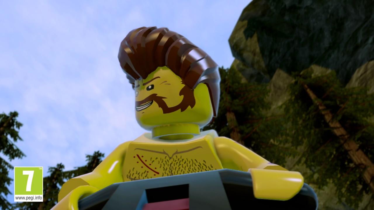 Lego City Undercover - Trailer di Lancio