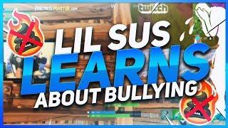 TSM Hamlinz - KID TEACHES LIL SUS ABOUT BULLIES! (Fortnite BR Full Game)