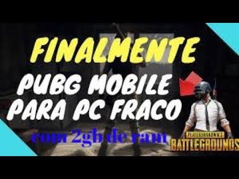 TUTORIAL -COMO RODAR , PUBG -MOBILE , EM PC SUPER FRACO