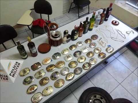 Policias de Andradas apreendem diversos materiais furtados e prendem autores