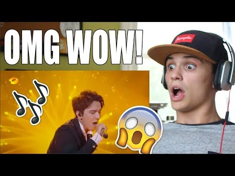 Dimash - Unforgettable Day (THE SINGER 2017) REACTION