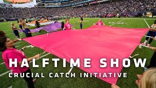 We Three and Craig Campbell Perform During 'Crucial Catch' Halftime Show