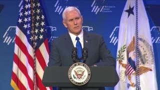Vice President Mike Pence at Republican Jewish Coalition 2017