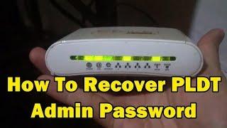 pldt router password