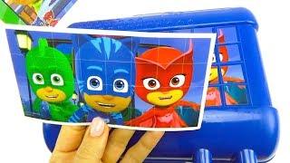Герои в масках игрушки из мультика