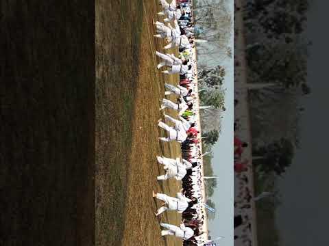 Penampilan di acara pembukaan Haornas di stadion tebat sari