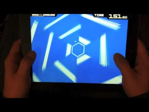 This Insane Super Hexagon Run Maybe Just Be A New World Record