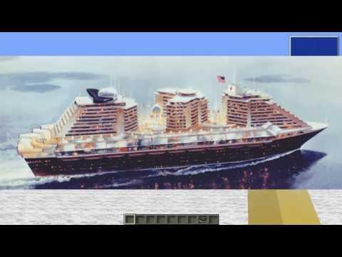 America World City (Cruise Ship) Minecraft Project
