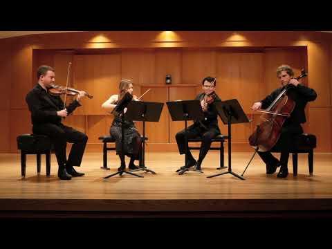 Ajax Quartet - Mozart K. 575 I Tom Yaron (Violin 1) Renee Hemsing (Violin 2) Mario Rivera (Viola) Eric Haugen (Cello)