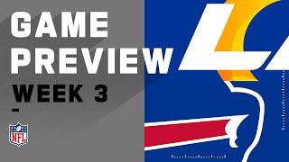 Los Angeles Rams vs. Buffalo Bills | Week 3 NFL Game Preview