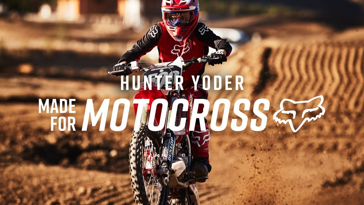 MX20 IS MADE FOR HUNTER YODER