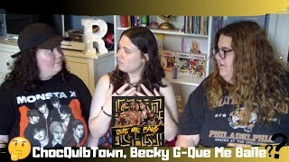 ChocQuibTown, Becky G  Que Me Baile Official Video Reaction
