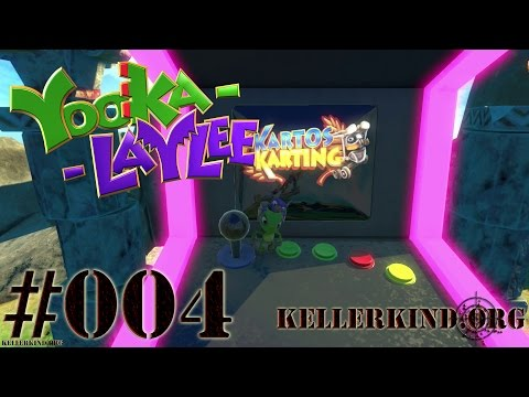 YOOKA-LAYLEE #4 – Rextro's Kartos Karting ★ Speedy plays Yooka-Laylee [HD|60FPS]