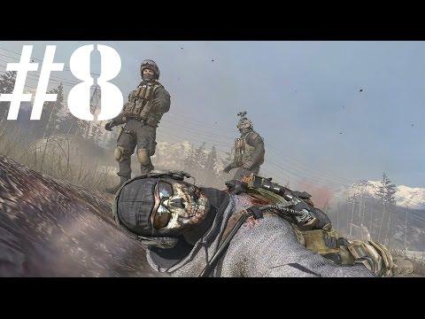 """Прохождение Call Of Duty:Modern Warfare 2.#8:Миссия """"Неоконченные дела""""."""