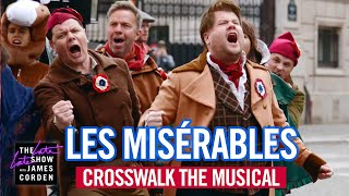 Crosswalk the Musical in Paris - Les Misérables - #LateLateLondon