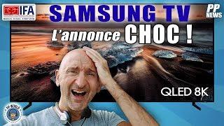 Samsung lancera ses TV 8K en FRANCE début OCTOBRE 2018 !