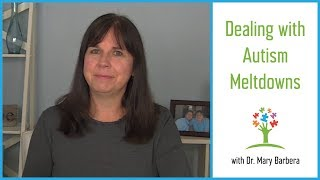 Tips for Dealing with Meltdowns in Children with Autism