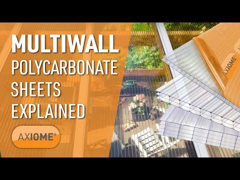 AXIOME® Multiwall Glazing Sheets