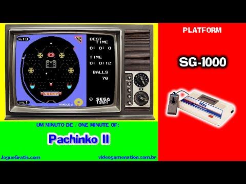 (one minute of) Pachinko II, SG-1000, Sega, 1983