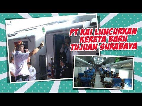 PT KAI Luncurkan KA Dharmawangsa Tujuan Jakarta-Surabaya