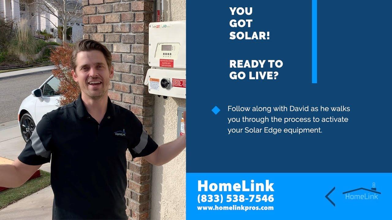 Solar Activation - Solar Edge
