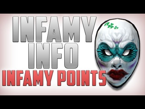 Infamy Points | Infamy benefits - Payday 2 (Payday 2 Infamy)
