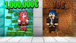 Minecraft ITA - STANZA RICCA VS STANZA POVERA!!