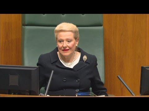 Australian Parliament's New House Speaker Is Like An Evil Harry Potter Character