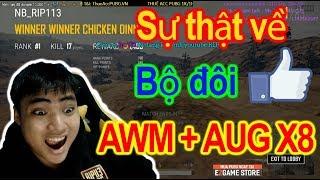 Cặp súng AWM + AUG đã đưa về top 1 l 17 kill