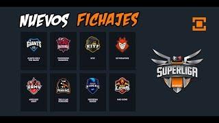 Los nuevos fichajes más potentes de la Superliga Orange de LoL