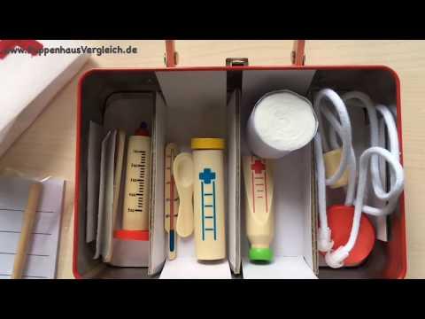 Bino Tierarztkoffer  - Kinder Arztkoffer Test