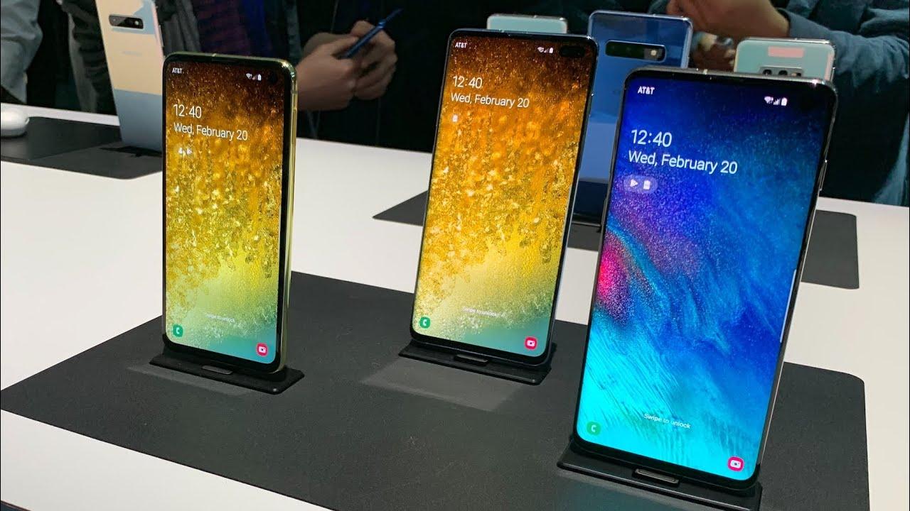 Samsung Galaxy S10 Plus 2019 G975F 8/512Gb Ceramiс Black (SM-G975FCKGSEK) video preview