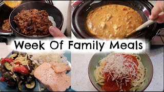 WEEK OF FAMILY MEALS | 5 SIMPLE MEAL IDEAS | KERRY WHELPDALE
