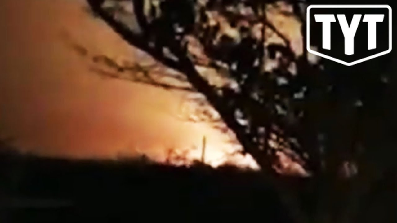 Officials Believe Ukrainian Plane Shot Down By Iranian Missiles thumbnail
