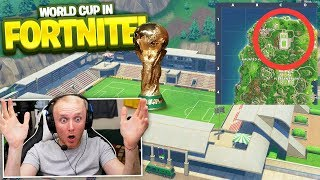 WORLD CUP FOOTBALL STADIUM IN Fortnite Battle Royale