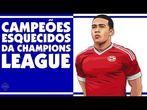 Campeões ESQUECIDOS da Champions League