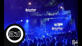 DJ Zinc LIVE from the Relentless Energy stage at Leeds Festival