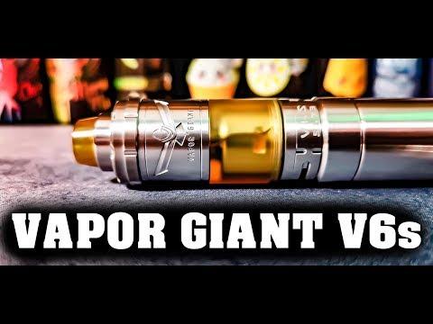 YouTube Video zu Vapor Giant V6 S Selbstwickelverdampfer 5.5 ml