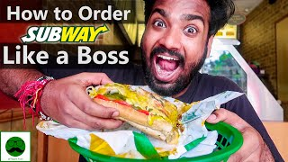 How to Order Subway Like a Boss with Veggiepaaji