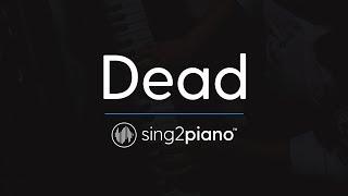 Dead [Piano Karaoke Instrumental] Madison Beer