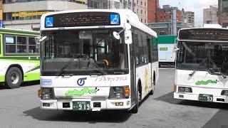 2017岩手県盛岡市都心循環バスでんでんむし右回り4K版